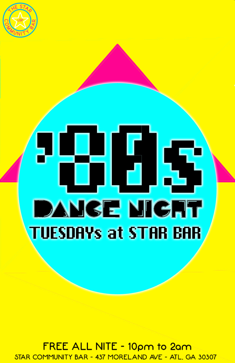 '80s Dance Night and Star Bar 1st Anniversary Party — September 16, 2014 — The Star Community Bar, Atlanta, GA