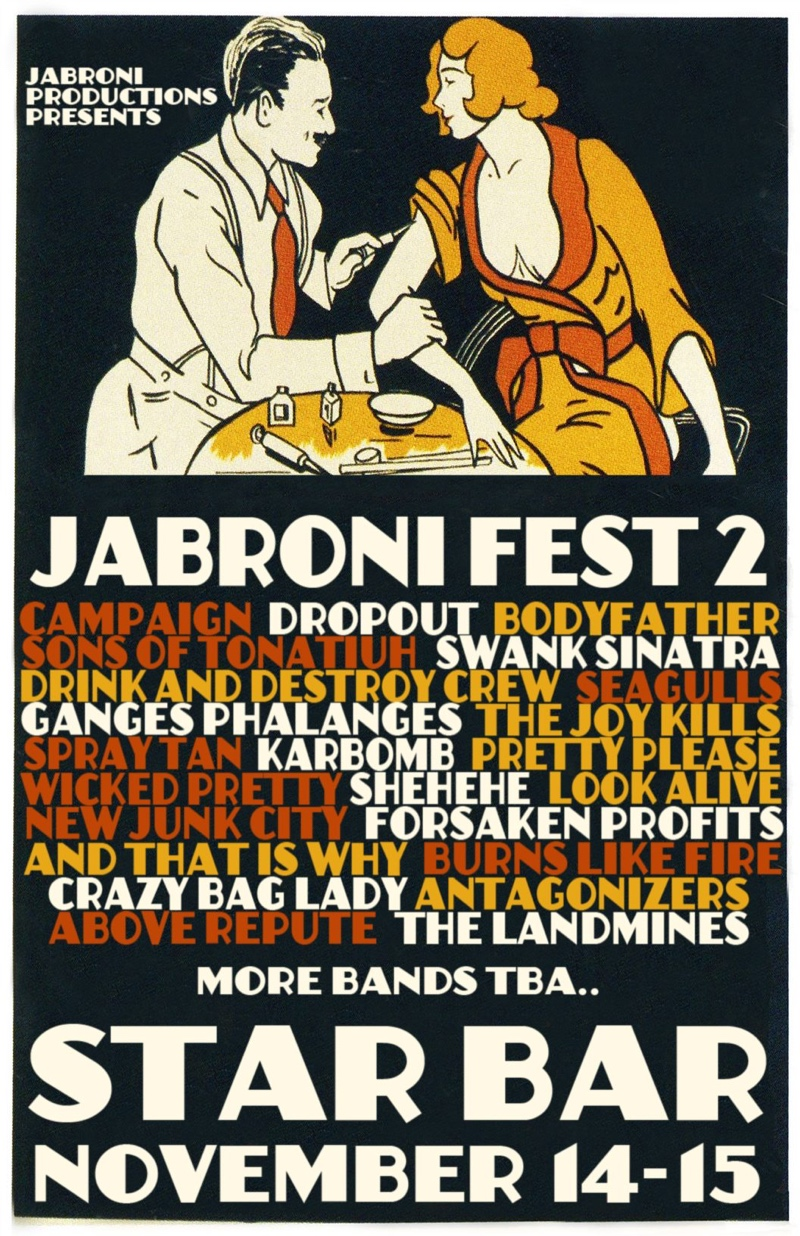Jabroni Fest 2: Day Two — November 15, 2014 — The Star Community Bar, Atlanta, GA