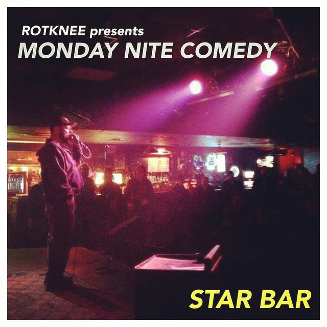Rotknee Presents: Monday Night Comedy — November 3, 2014 — The Star Community Bar, Atlanta, GA