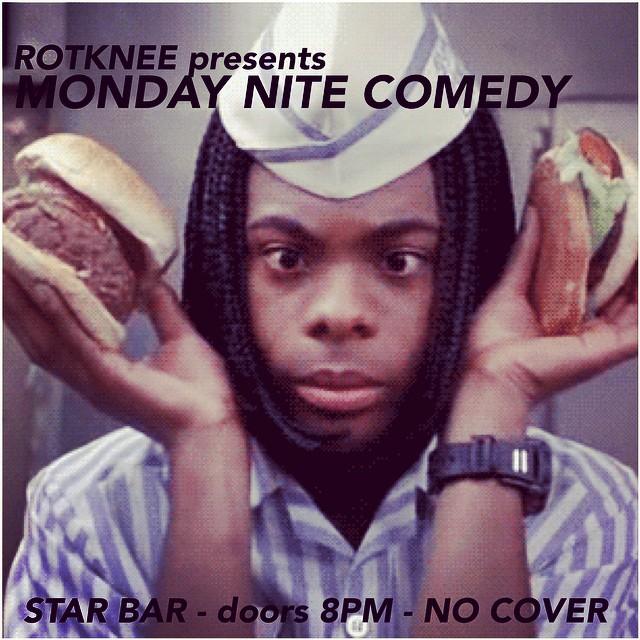 Rotknee Presents: Monday Night Comedy — November 10, 2014 — The Star Community Bar, Atlanta, GA