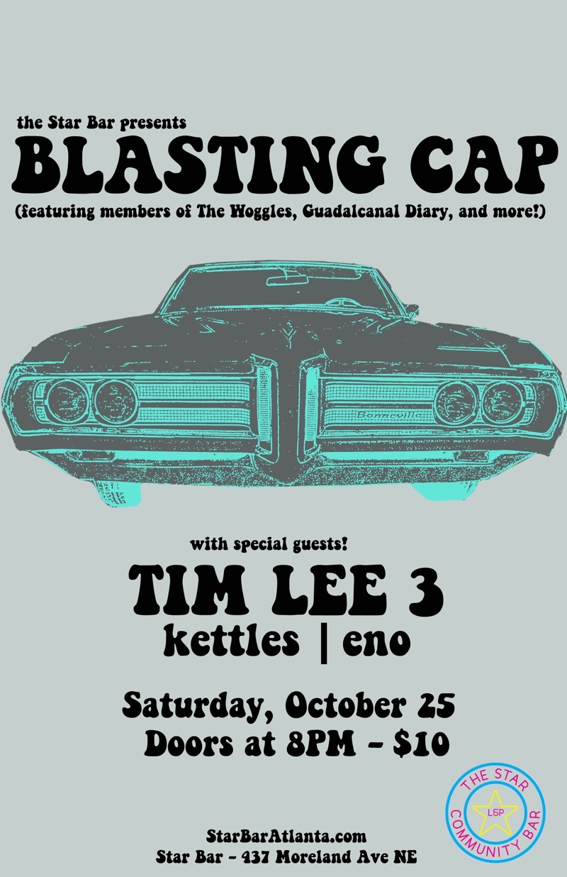 Blasting Cap + Tim Lee 3 + kettles | eno — October 25, 2014 — The Star Community Bar, Atlanta, GA