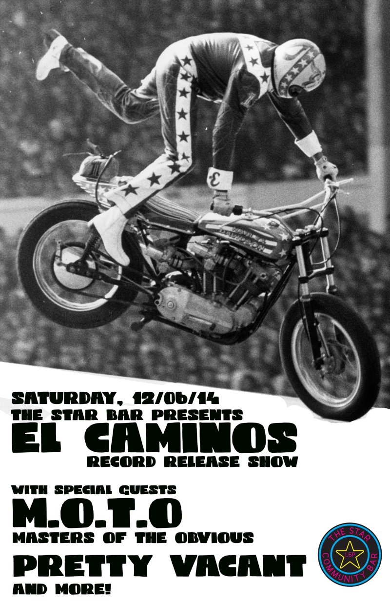 El Caminos Record Release Show — December 6, 2014 — The Star Community Bar, Atlanta, GA