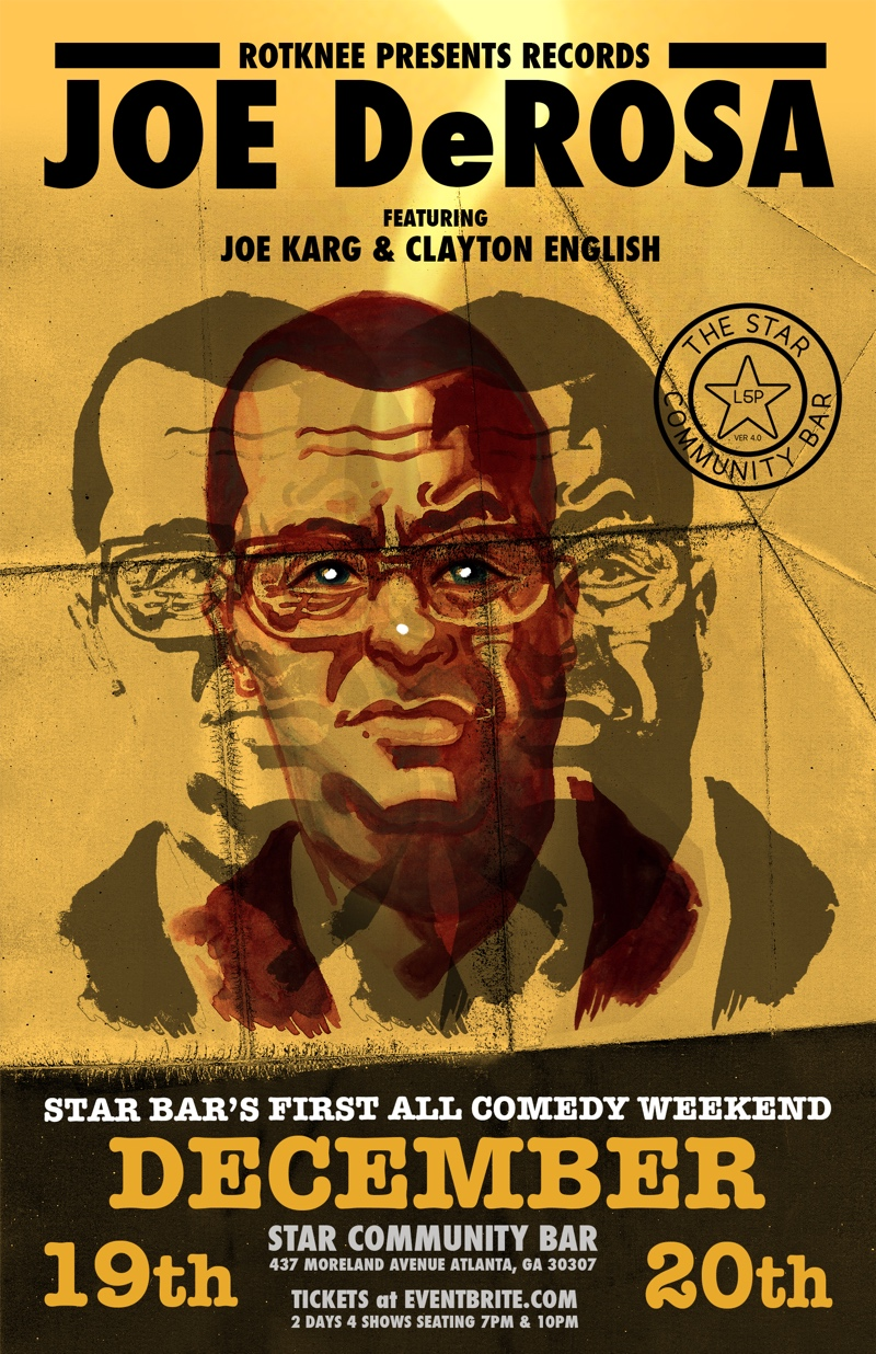 JOE DeROSA ft. JOE KARG and CLAY ENGLISH — December 20, 2014 — The Star Community Bar, Atlanta, GA