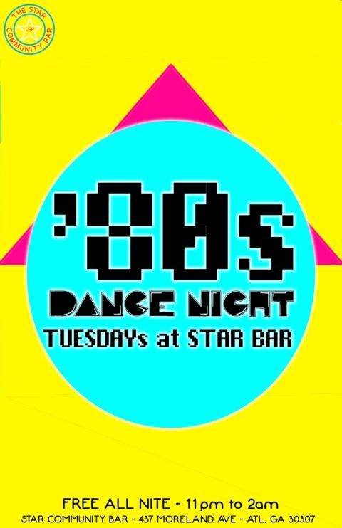'80s Dance Night — December 23, 2014 — The Star Community Bar, Atlanta, GA