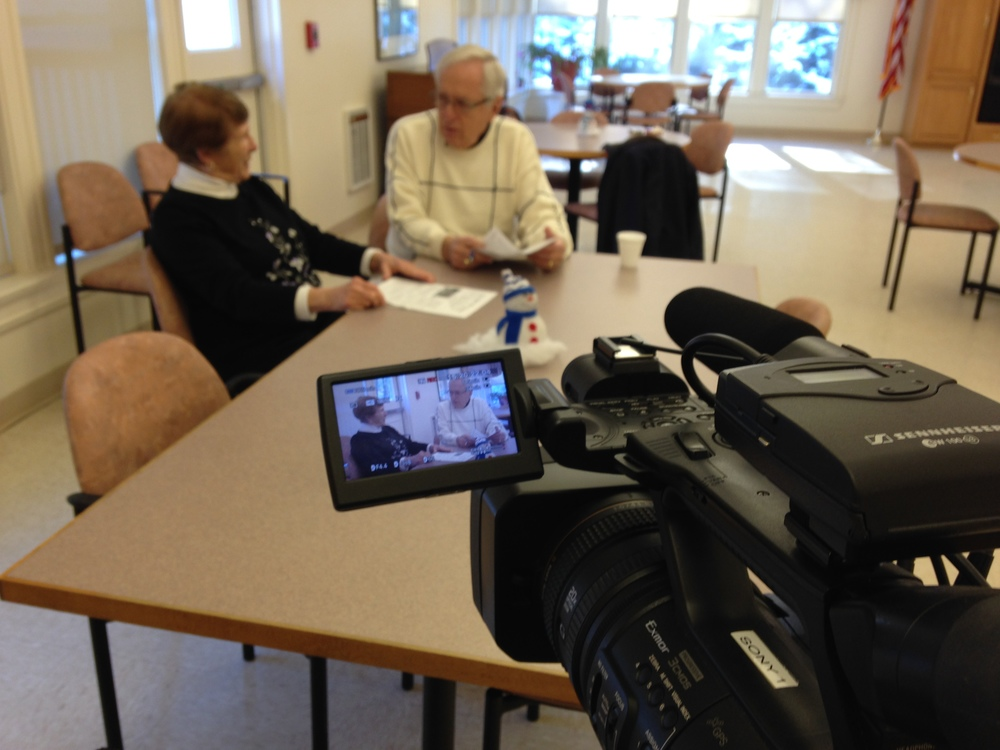 Norma Shruhan and Richard Connors chat about the Senior Center's events for February 2014.