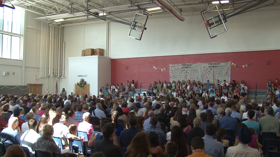 6th Grade Promotion Ceremony 2014 at Freeman-Kennedy