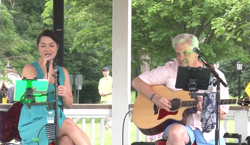 The Bill McGoldrick Acoustic Duo with Danielle Jean - 2015