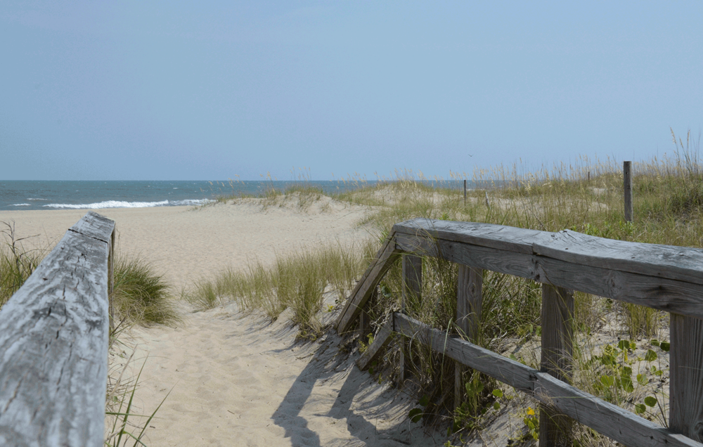 Beach at Fort Fisher