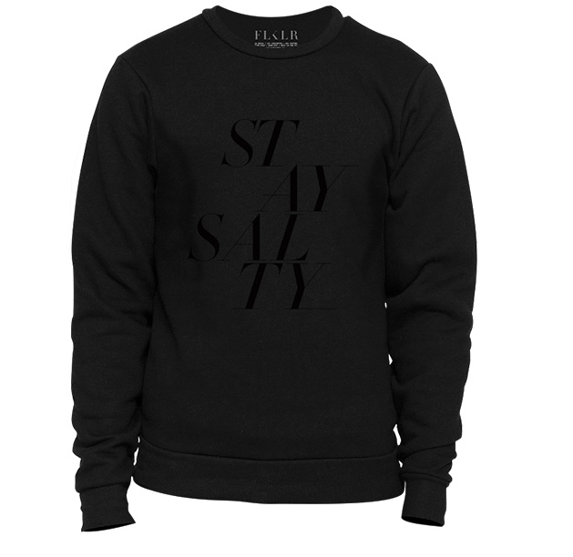 stay salty sweater