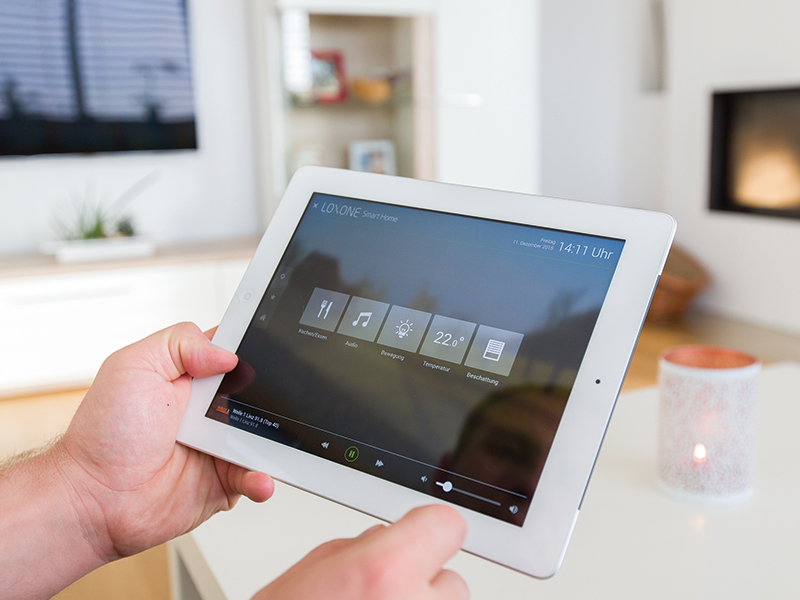 Smart home solutions Comfort,efficiency and easy-to-use central control of the many systems in your home. Find out more