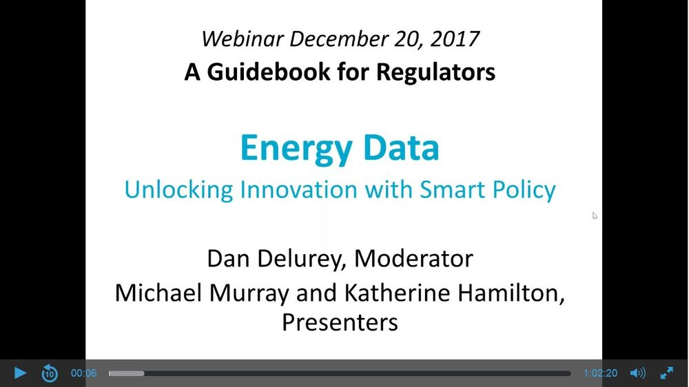 Watch the December 20, 2017 webinar