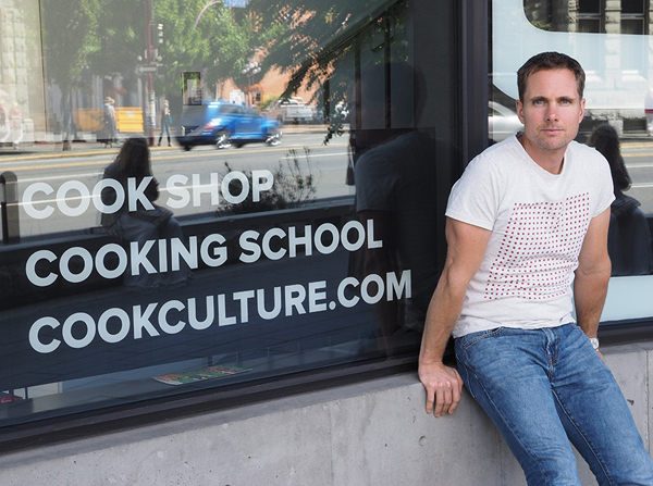 Cookworks's new owner, Jed Grieve. Photo by EAT.