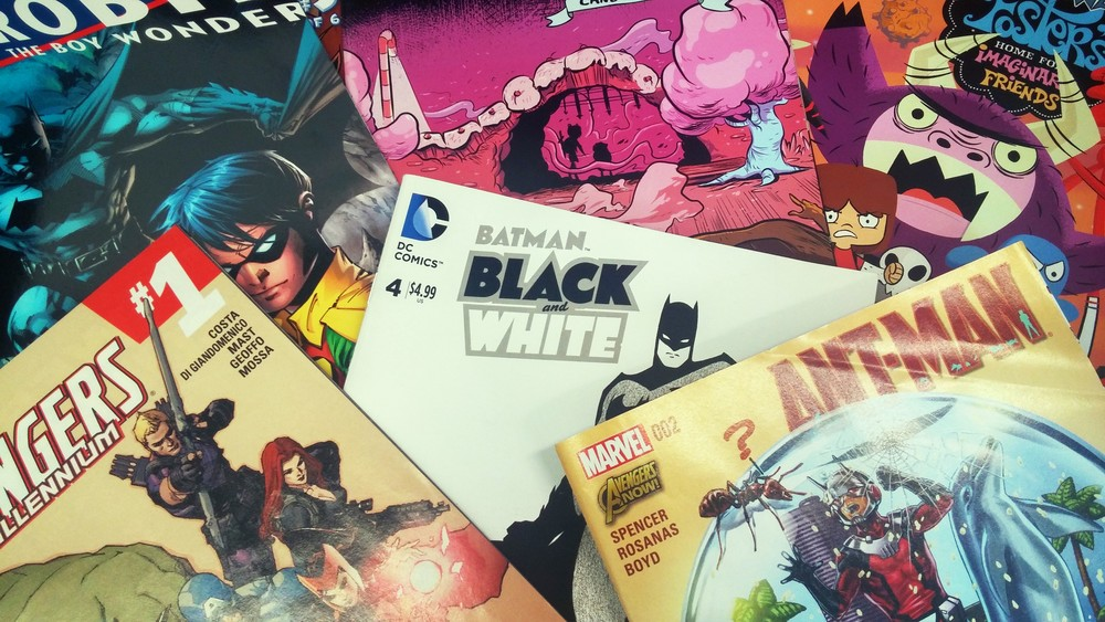 A peek at a tiny fraction of the variety of comics available for reading on Fridays!