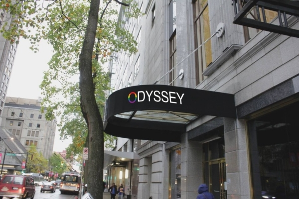 The Odyssey Opened at 686 West Hastings Street on July 28th