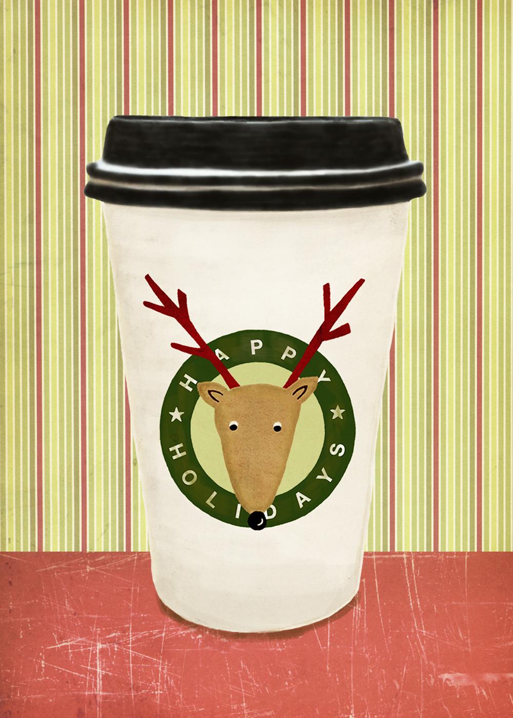 Reindeer cup