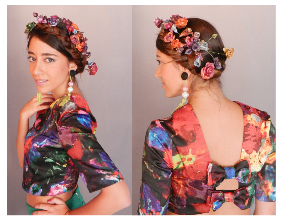 Coronas de Flores , multicolor o en blanco o pasteles, para Novias, Cortejo adulto y niñitas, pidela como quieras, pintadas a mano.