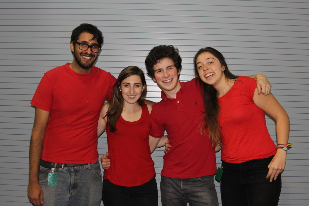 [Left to Right]: Abeer Mehra, Tayler Aitken, Matthew Zimmerman, and Daniella Calle Donado