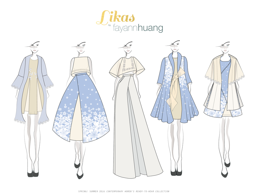 LIKAS SS16 ILLUSTRATION line-up