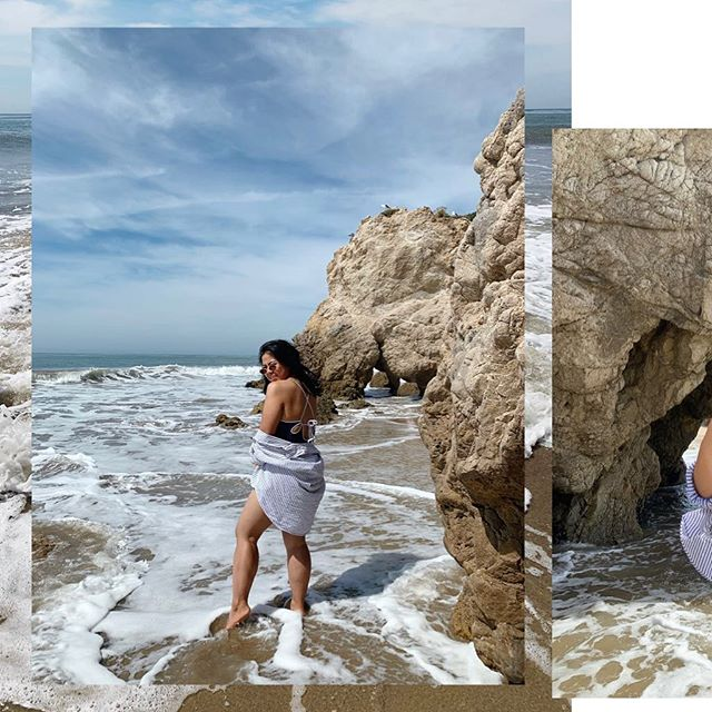 #Malibu— I'm sorta/ kinda in love with you. 💕🌊☀️ . . _____ Ps. Hello #PacificOcean! 👋🏼 #fayyysbirthdaytrip2019 #MalibuCalifornia #ElMatadorBeach