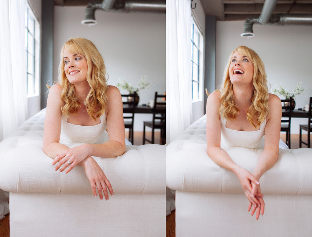 Abigail Hawk - One of the best traits of a good subject is their ability to laugh during a shoot