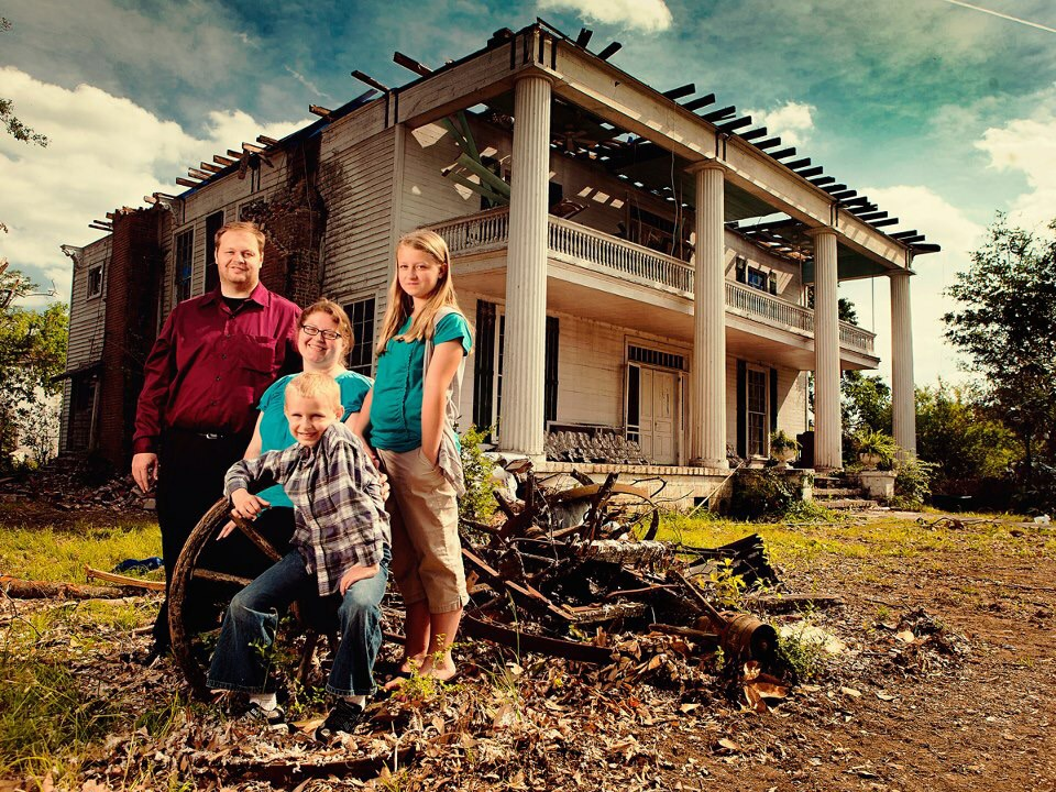 This family was luckily not at home or they probably would be dead based on the way their house was ripped to shreds.