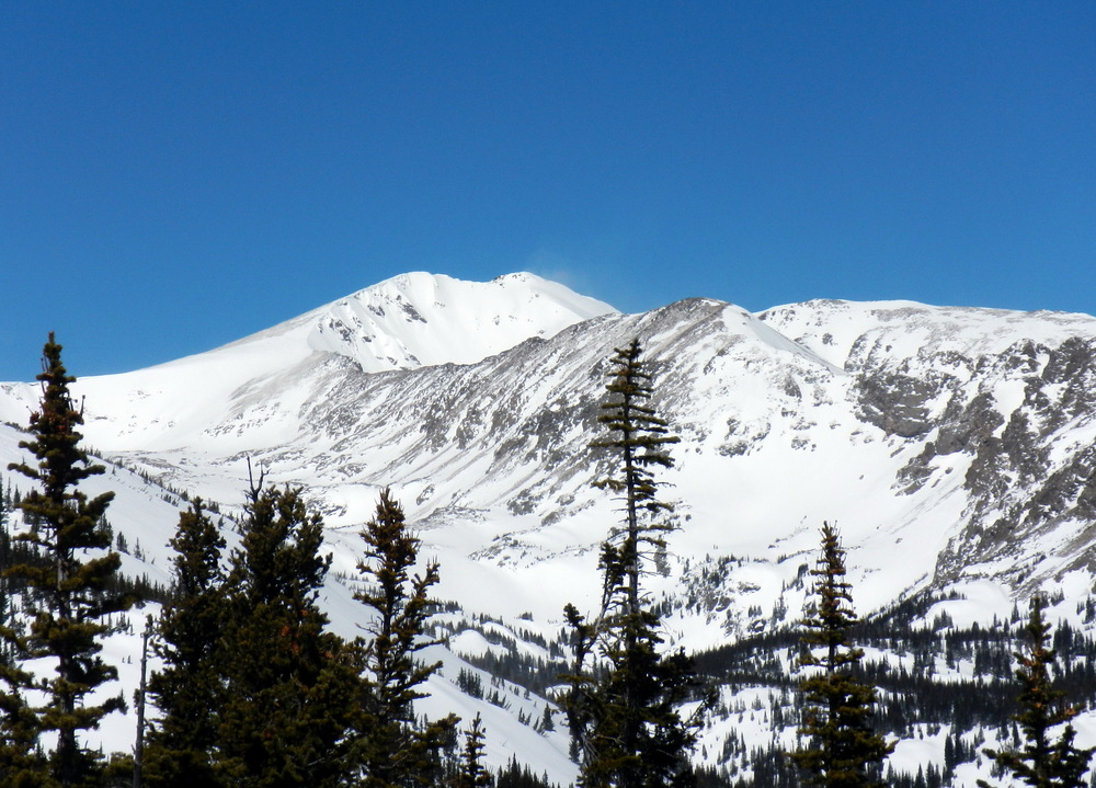 Jasper Peak from the East.