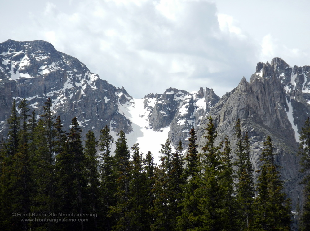 Fair Glacier from the north.