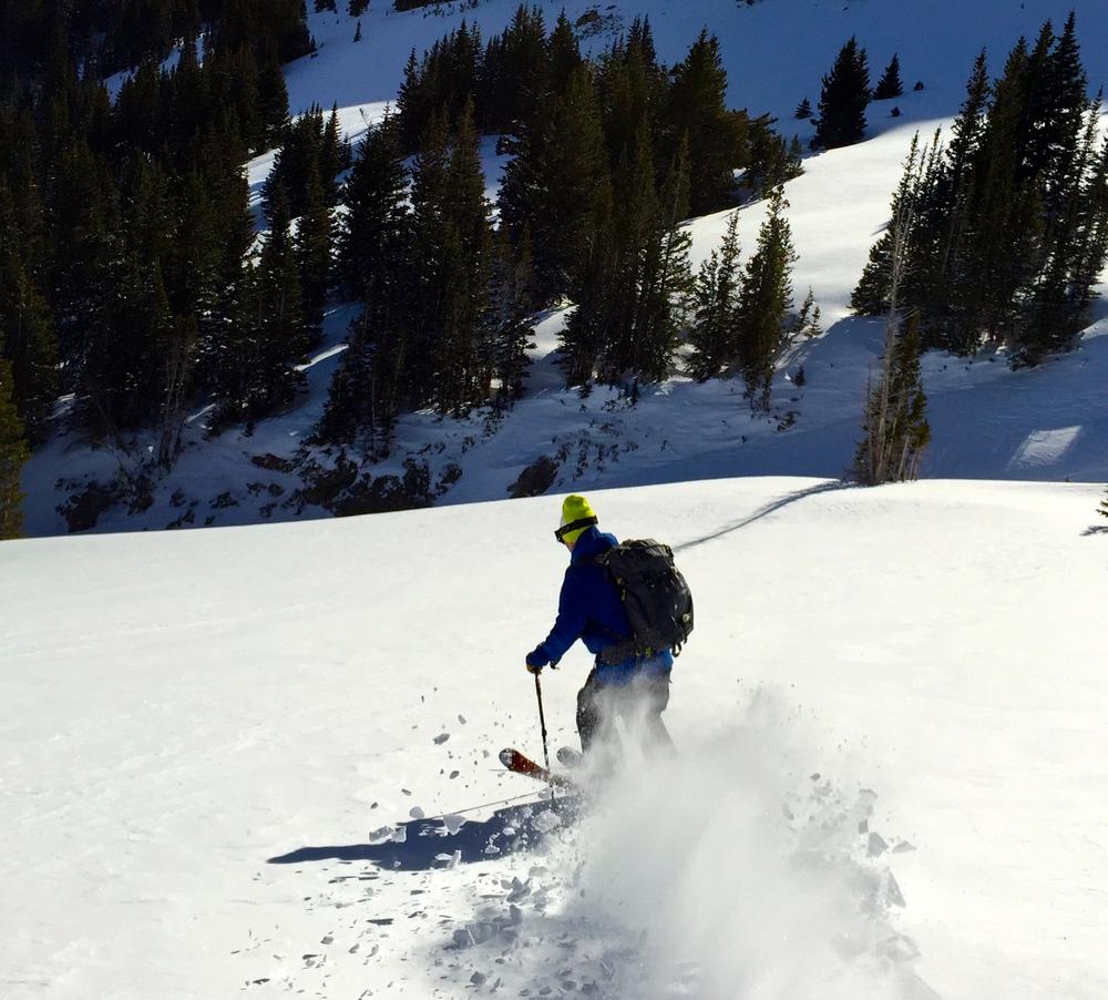 Skiing Butler Bowl