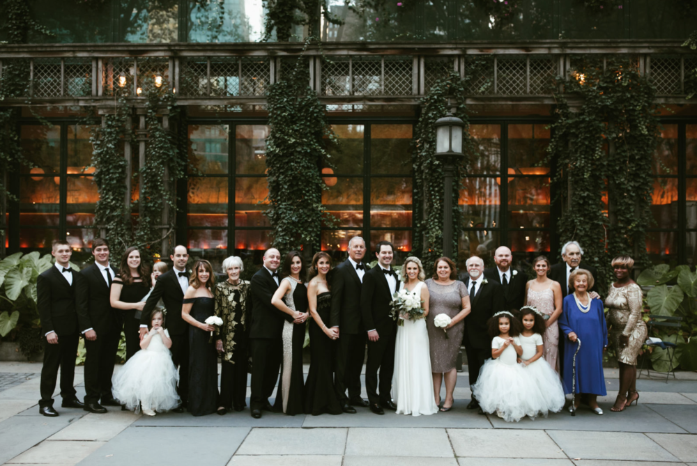 Sophisticated Wedding, Saratoga Springs, Lisa and Will's Wedding at Bryant Park, NYC, www.snfloraldesign.com