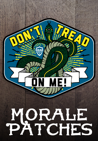 American DTOM Morale Patches