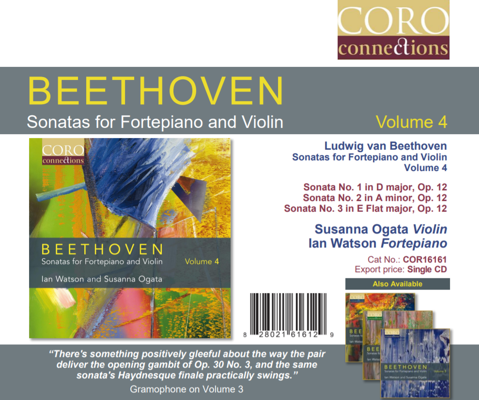 Volume 4 marks The Beethoven Project in its entirety COMPLETE!