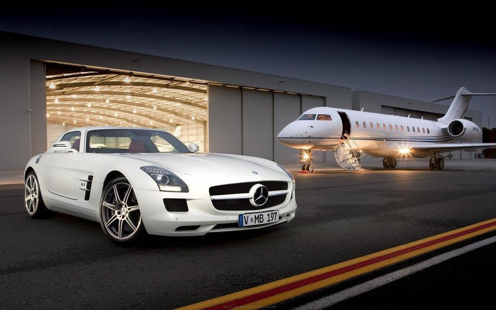 Charter a luxury jet.