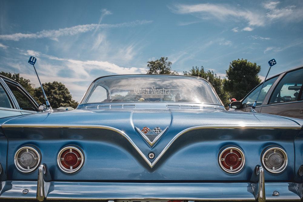 1961 Chevrolet Impala back.