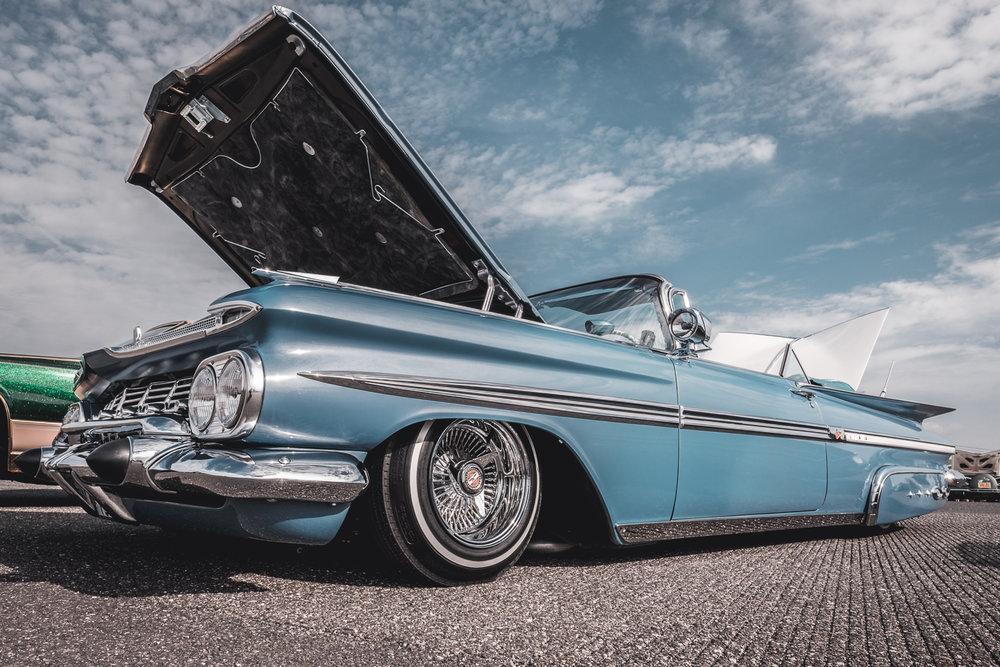 1959 Chevrolet Impala side.
