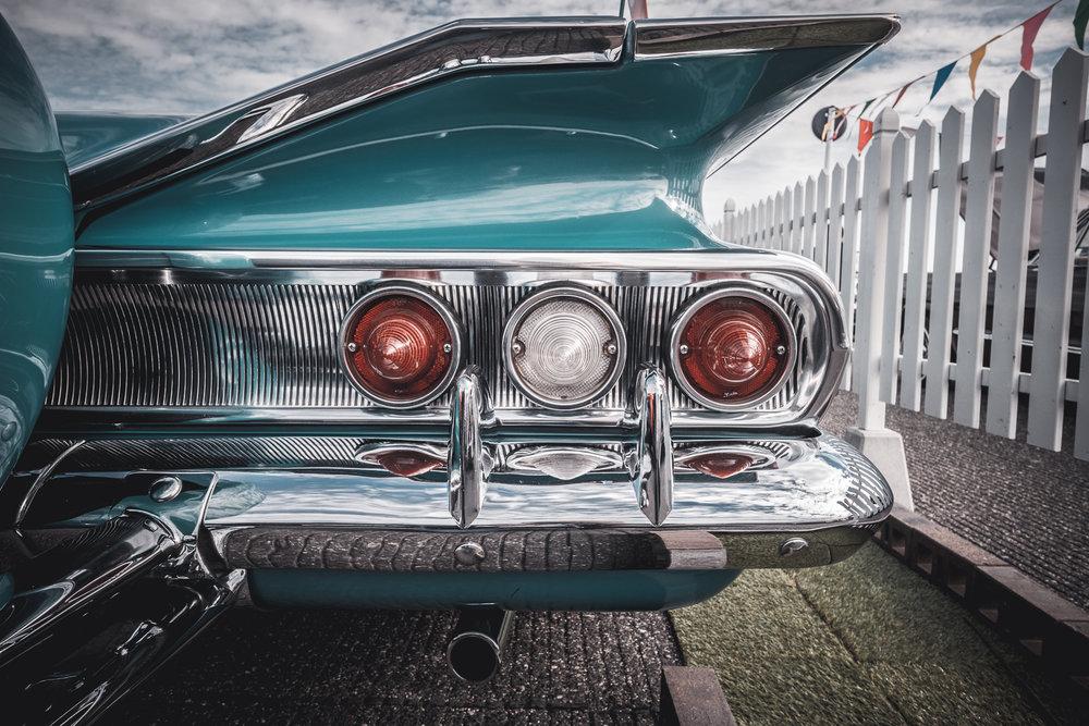 1960 Chevrolet Impala back.