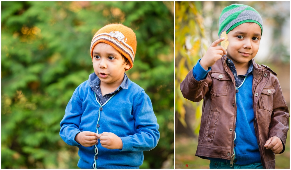 This little guy really knows how to rock a beanie! The orange hat was passed down from his older brother who looked very similar at this age. His mom wanted to get a few shots of their youngest wearing the same orange hat so we can create a framed collage.