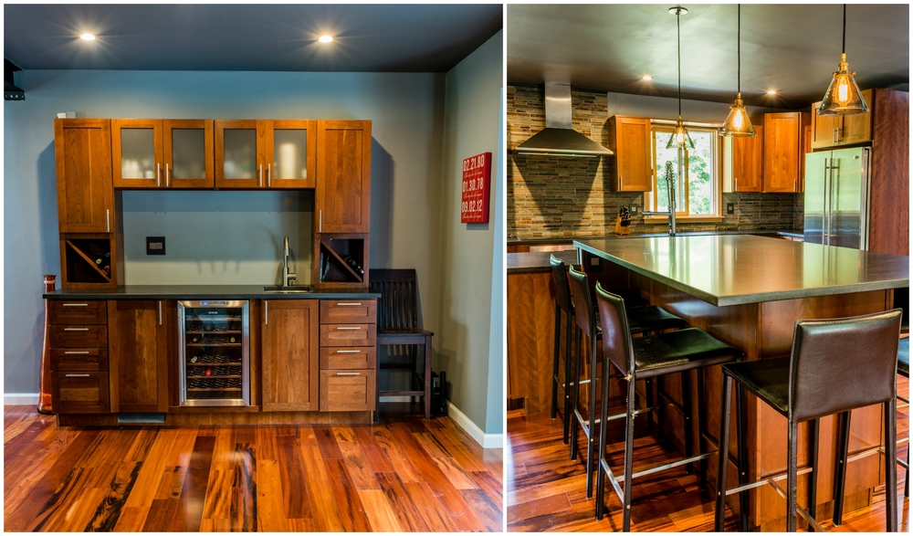 Complete with at wet bar!