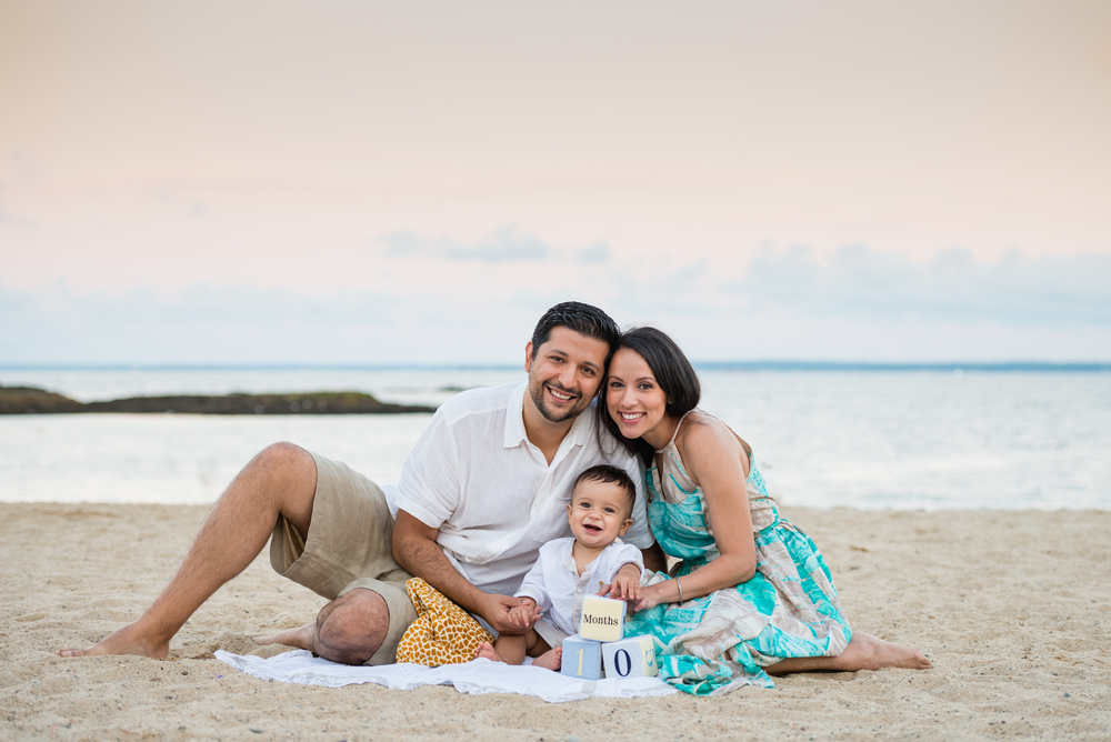 Family Beach Portraits Fairfield County