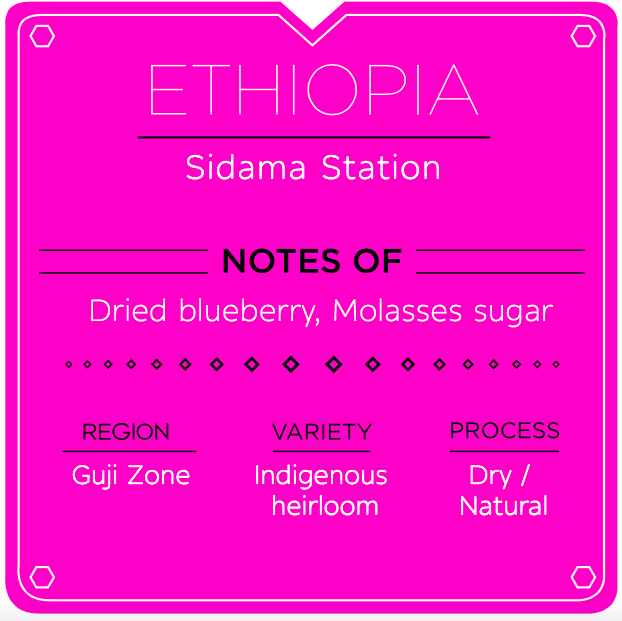 ETHIOPIA SIDAMA STATION NATURAL