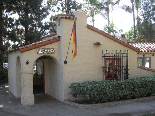 House Of Germany Cottage Balboa Park San Diego