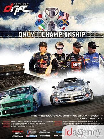 2009 Formula DRIFT Poster