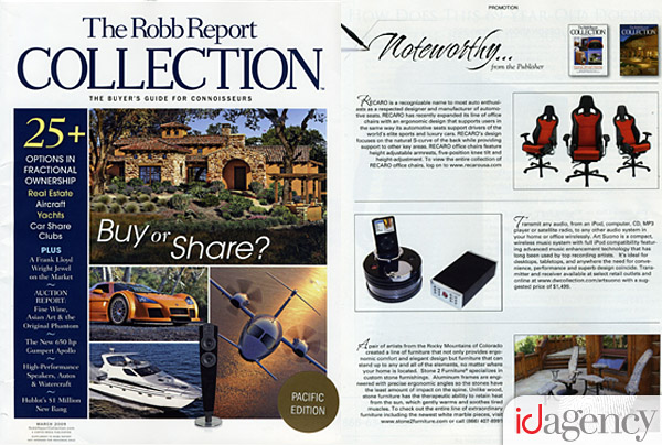Robb Report Collection with Recaro Office Chairs Feature
