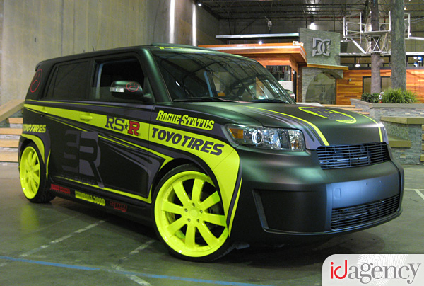 Rogue Status Scion XB for the Gumball 3000