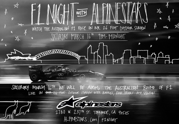 F1 Night with Alpinestars