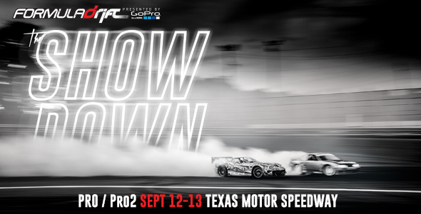 Texas Motor Speedway will play host to the highly anticipated event under the night sky. In 2013, the new track proved to be challenging as one of the fastest drift tracks on the circuit and one of the most technical for tandem drifting. Click here for more information and to purchase tickets.