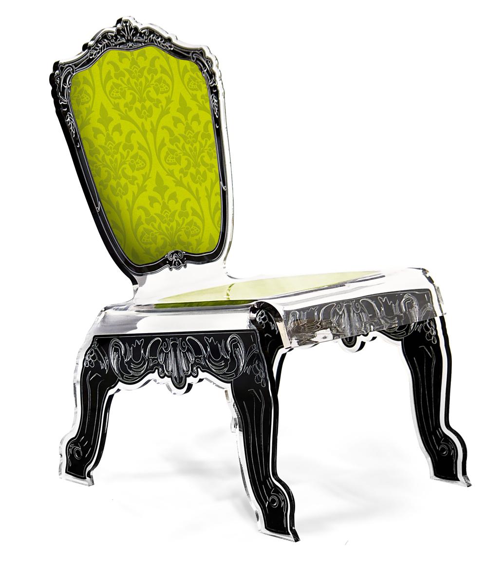 chaise basse baroque verte.jpg
