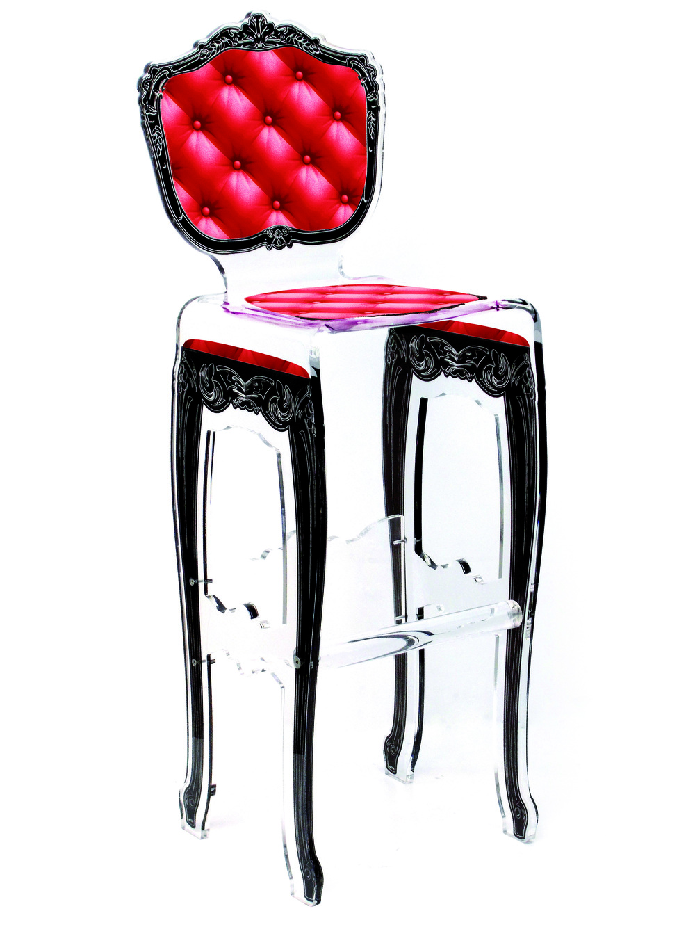 Barstool Plexi Red