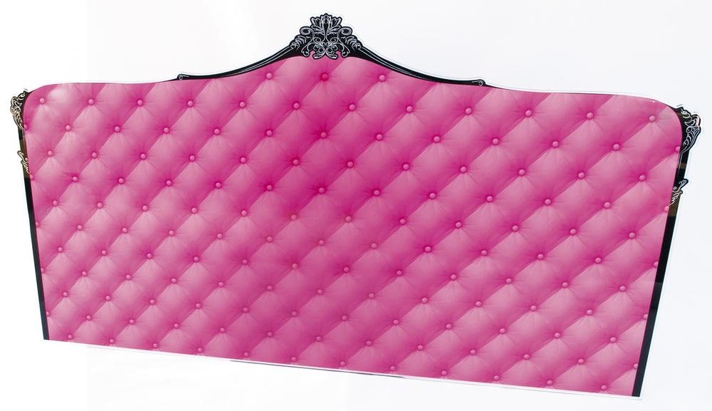 Bed Headboard Pink