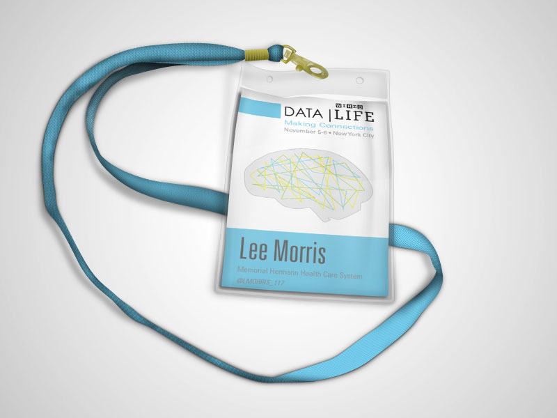 DATA | Life Name Badge