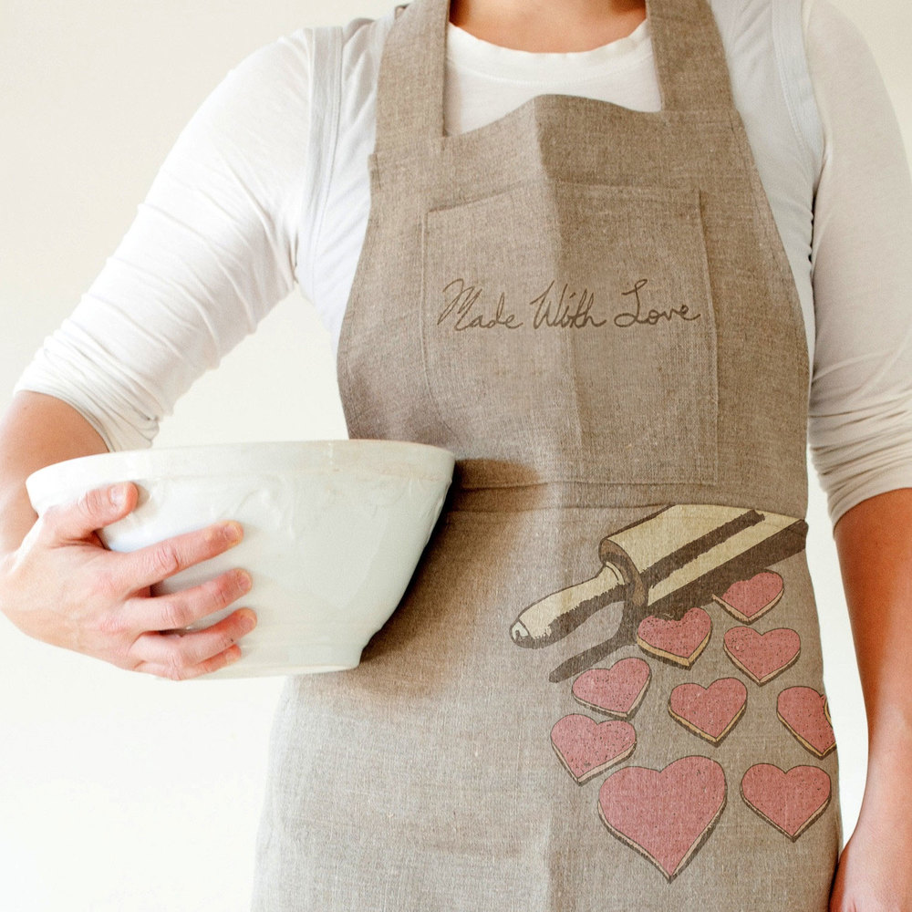 Apron from the Made with Love Cooking Line